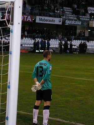 Carlos Sánchez García - Sánchez before a game with Castellón in 2010