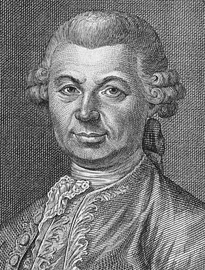 Carlo Gozzi - Portrait of Carlo Gozzi