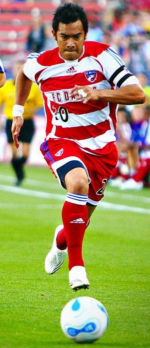 Carlos Ruiz (Guatemalan footballer) - Ruiz playing for FC Dallas in 2007
