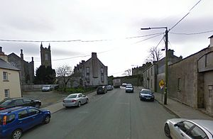 Carnew - Main street, Carnew