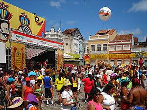 2007 Carnival at Pátio de São Pedro square in ...