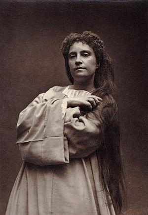 Marie Caroline Miolan-Carvalho - Caroline Carvalho as Marguerite in Gounod's Faust (1873)
