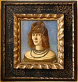 Carpaccio (attr.), ritratto di donna, 1495-1500 ca. 01.jpg
