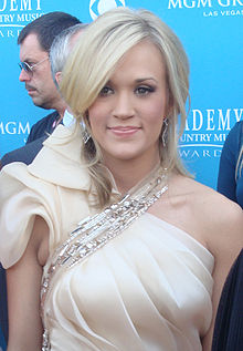 Carrie Underwood v roce 2010