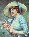 Carte postale d'Epinay, le printemps.JPG
