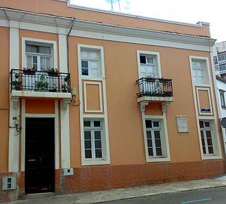 José Comas Quesada - House where the painter lived.
