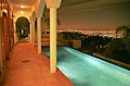 Casa de Lila pool, night view, Los Angeles.jpg