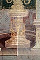 Casa dei vettii, vestibolo, primo atrio, candelabre su basi decorate 02.jpg