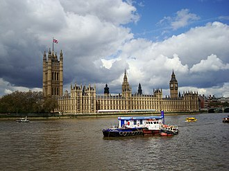 Bicameralism - The Palace of Westminster, seat of the UK Parliament