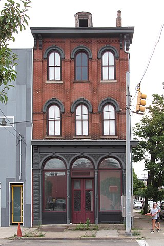 Cast-iron storefront, South 18th Street