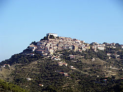 View of Castellabate.