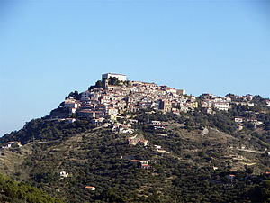 Castellabate - View of Castellabate.