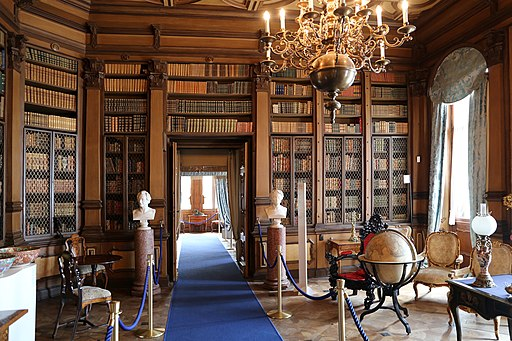 Castello di miramare, biblioteca 02