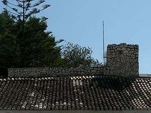 Alvor (Portimão) - A glimpse of the Castle of Alvor