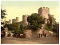 Castle entrance, Conway (i.e. Conwy), Wales-LCCN2001703466.tif