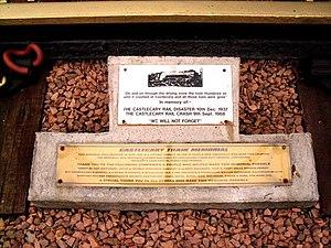 Castlecary - Plaques, Castlecary Train Memorial, Castlecary Memorial Garden