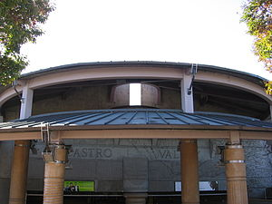 Castro Valley station - Exterior of the Castro Valley BART Station