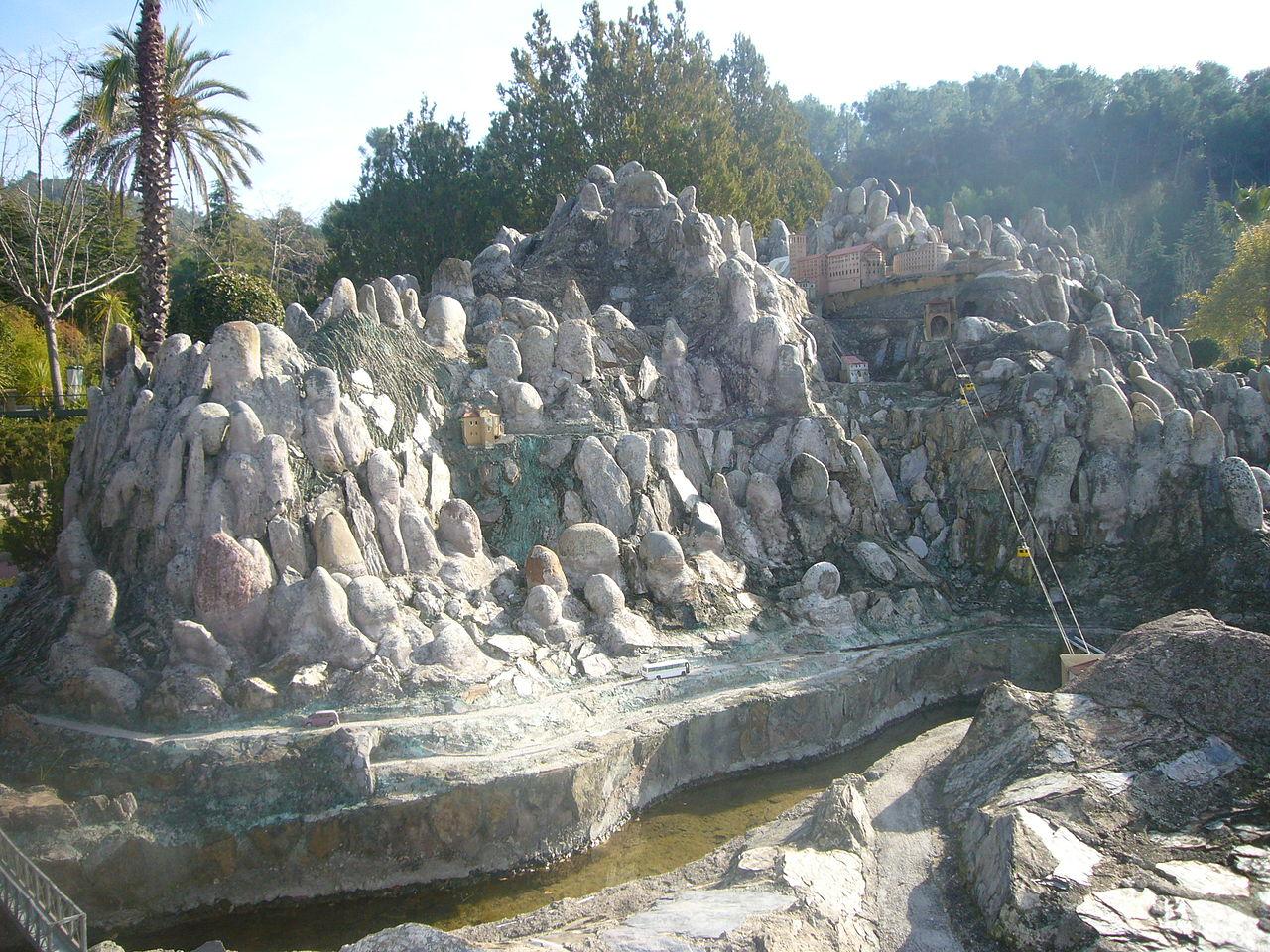 File Catalunya En Miniatura Muntanya Monestir I Aeri De