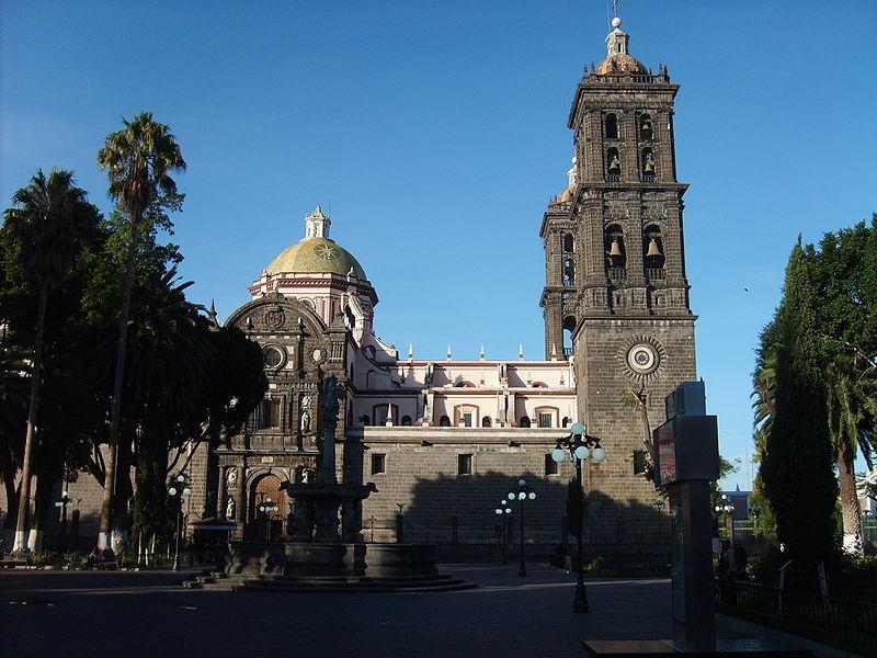 Pontos de interesse de Puebla