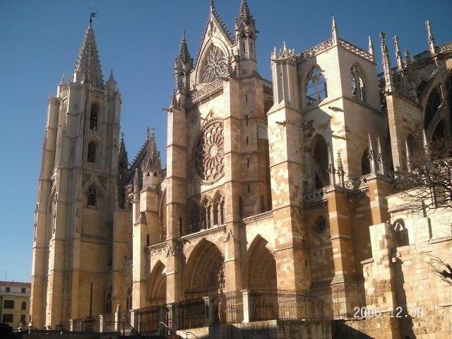 Catedral de león fachada sur