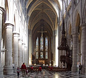 Liège Cathedral - Liège Cathedral interior