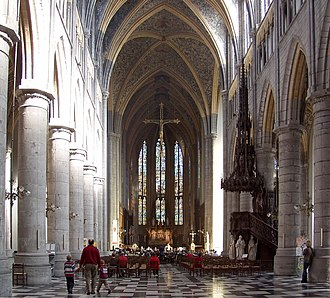 Liège Cathedral - Interior