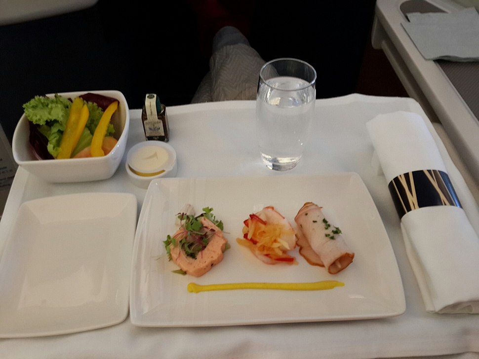 Cathay Pacific Business Class Menu-1
