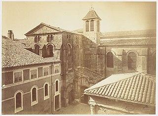 Photographie de la restauration de la cathédrale de Valence
