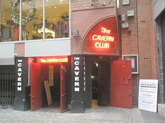 The Cavern Club - External view of the reopened Cavern Club, January 2006
