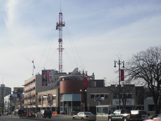 CBW (AM) - CBC Winnipeg Building, 541 Portage Ave.