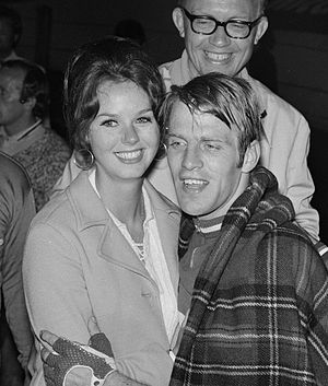 Cees Stam - Cees Stam with wife at the 1970 World Championships