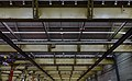 Ceiling of abandoned train workshop in Tilburg 2015 - Inverted (27303124478).jpg