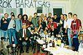 Celebration and potlock of Dorog fans in 1998.jpg