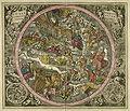 Cellarius Harmonia macrocosica 1708 Coeli stellati christiani haemisphaerium prius.jpg