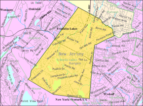 Census Bureau map of Franklin Lakes, New Jersey.png
