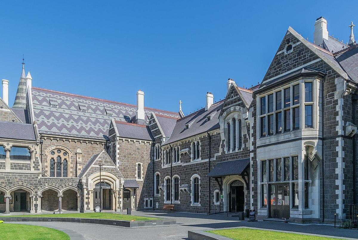 Video Christchurch Gallery: Christchurch Arts Centre