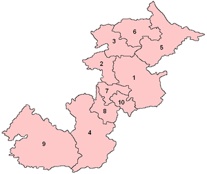 Central Scotland (Scottish Parliament electoral region) - Image: Central Scotland Number