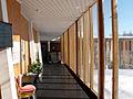 Centre for Peace Studies, University of Tromsø, Lower Pavilion entrance hall.jpg