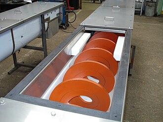Screw conveyor - Centreless screw conveyor