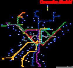 Mapa cercanias barcelona mapa