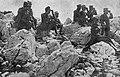 Cesar Karel s svojim spremstvom opazuje potek boja za hrib sv. Gabrijela.jpg