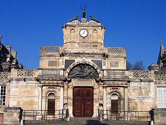 Philibert de l'Orme - Portal to the Château d'Anet, built for Diane de Poitiers