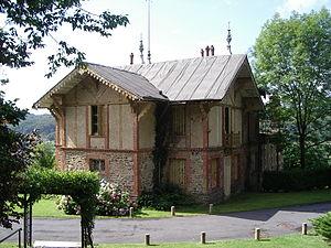 Bogny-sur-Meuse - Image: Château Marcadet