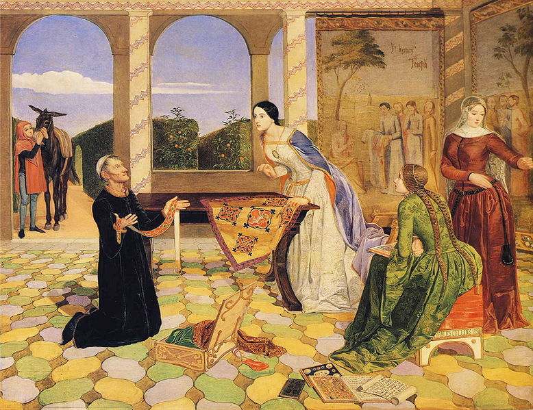 Файл:Charles Allston Collins - Berengaria's Alarm for the Safety of her Husband, Richard Coeur de Lion.JPG