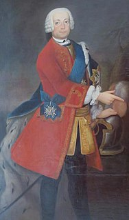 Duke Charles Louis Frederick of Mecklenburg Prince of Mirow