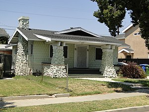 National Register of Historic Places listings in Los Angeles - Image: Charlotta Bass House