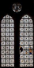 verrière de l'Annonciation à Chartres