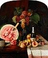Chase William Merritt Still Life With Watermelon 1869.jpg