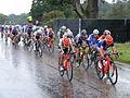 Chasing bunch Womens Olympic road race, Richmond (7669912514).jpg