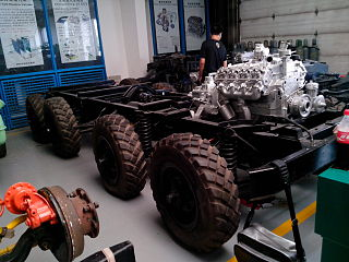 Eight-wheel drive type of drivetrain with eight driven wheels